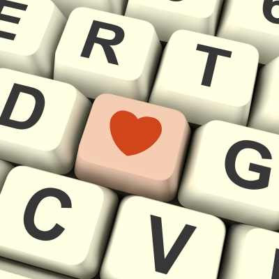 heart and keyboard